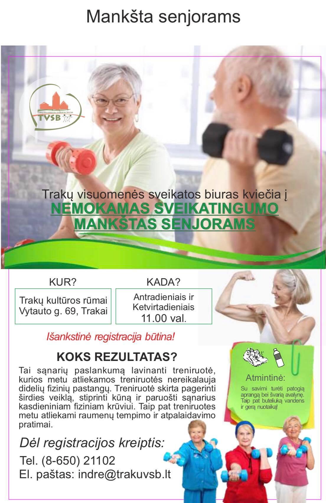 senjorų širdies sveikata