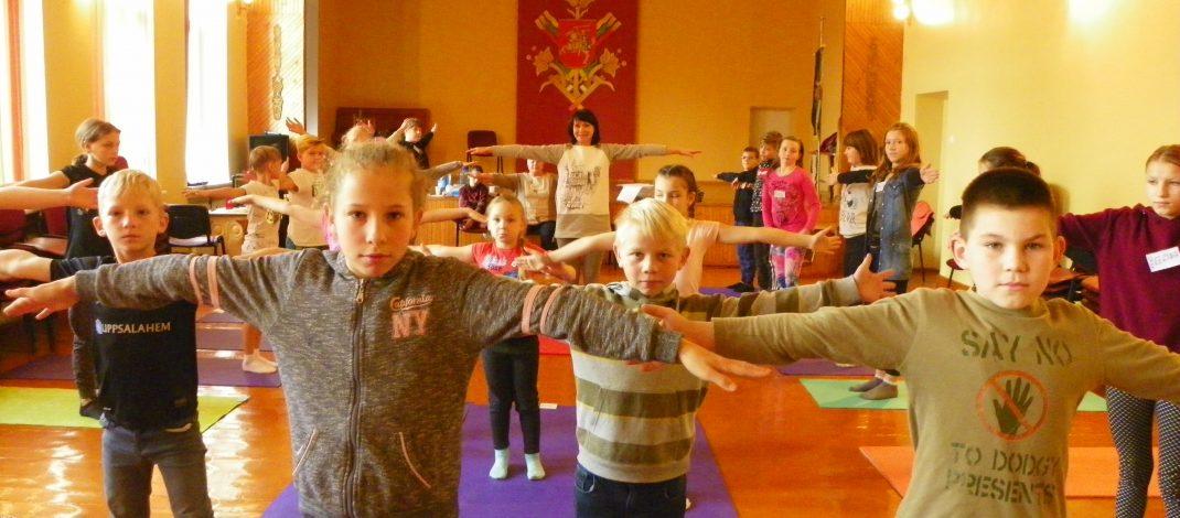 Mokomės gyventi aktyviai ir sveikai!