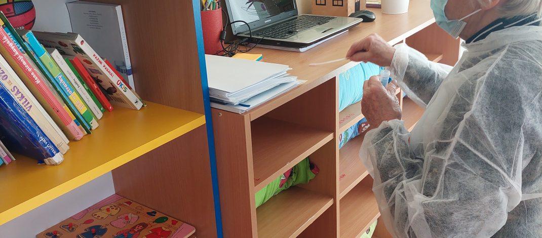 Paviršių tyrimas ikimokyklinio ugdymo grupėse